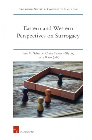 Eastern and Western Perspectives on Surrogacy book cover