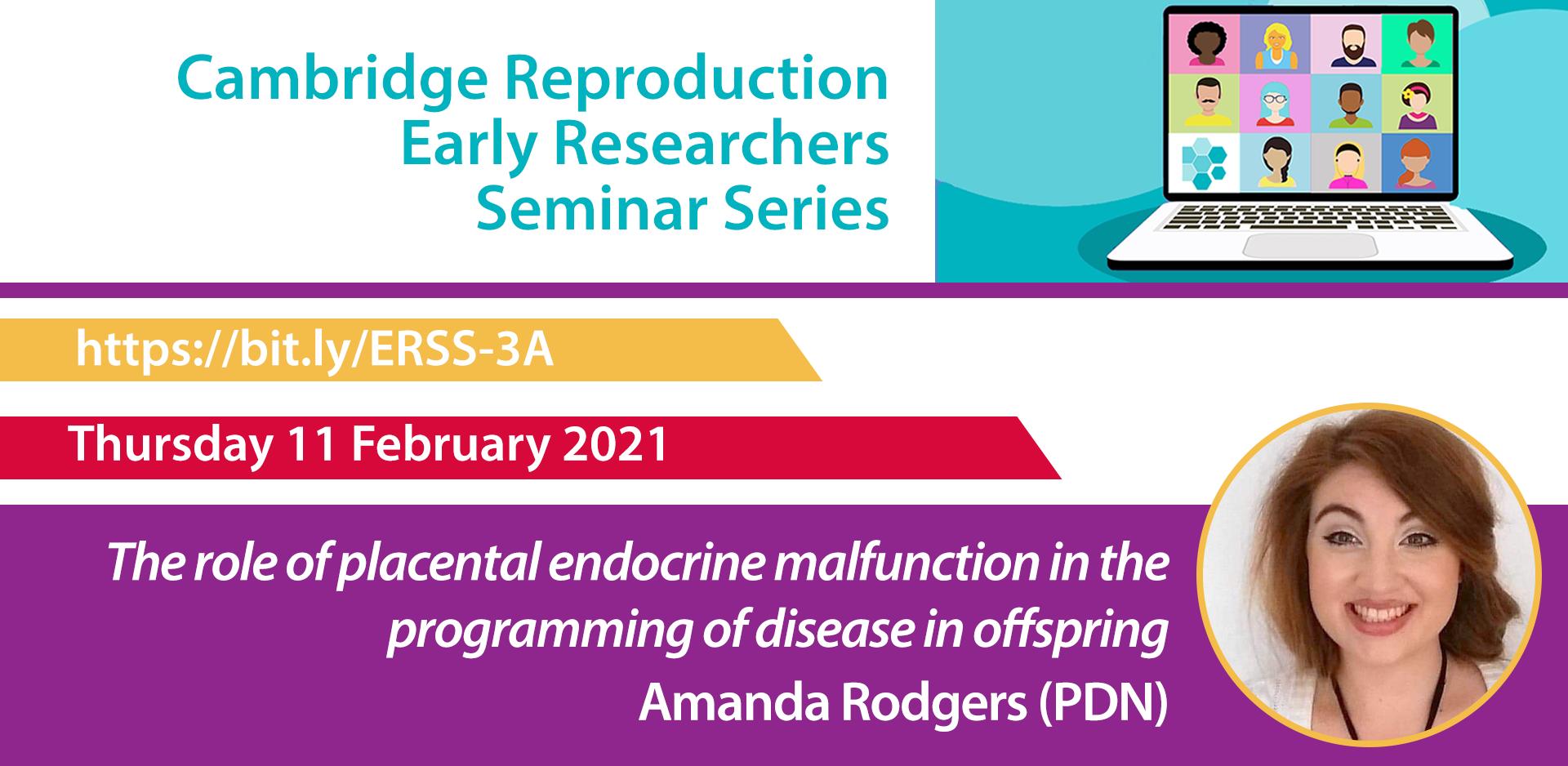 Amanda Rodgers ERSS seminar