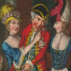 An Evenings Invitation; with a Wink from the Bagnio (1773)